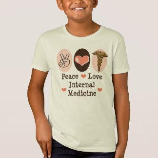 FriedensLiebe-interne Medizin scherzt Bio T-Shirt
