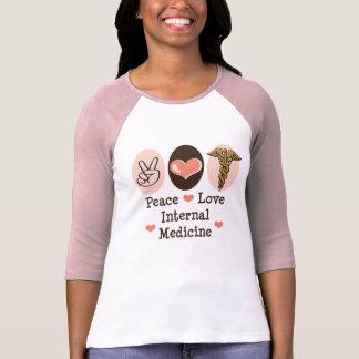 FriedensLiebe-interne Medizinraglan-T-Stück T-Shirt