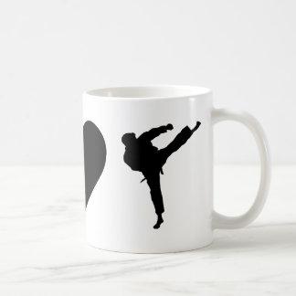 FriedensLiebe-Karate Kaffeetasse