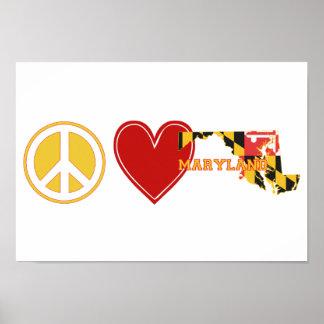 FriedensLiebe Maryland Poster