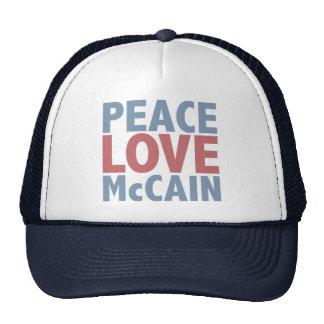 FriedensLiebe McCain Retrokultkappen