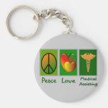 FriedensLiebe-medizinische Unterstützung Schlüsselband