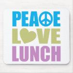 FriedensLiebe-Mittagessen Mousepads