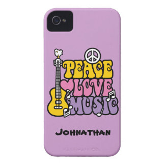 FriedensLiebe-Musik iPhone 4 Cover