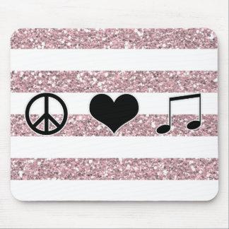 FriedensLiebe-Musik Mousepad