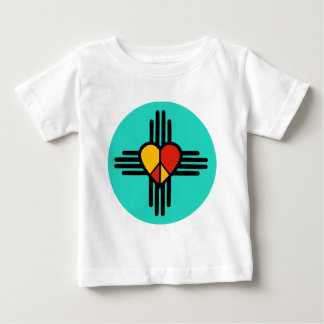 FriedensLiebe New-Mexiko Baby T-shirt