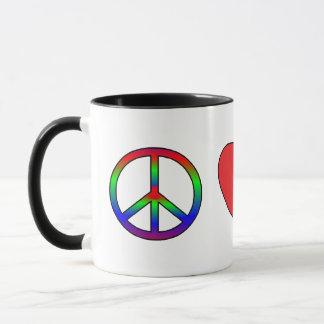 FriedensLiebe-Norweger Elkhounds Tasse