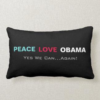 FriedensLiebe Obama ja können wir wieder Lendenkissen