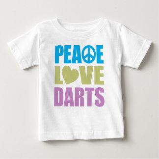 FriedensLiebe-Pfeile Baby T-shirt
