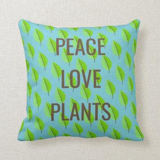 FriedensLiebe-Pflanzenkissen Kissen