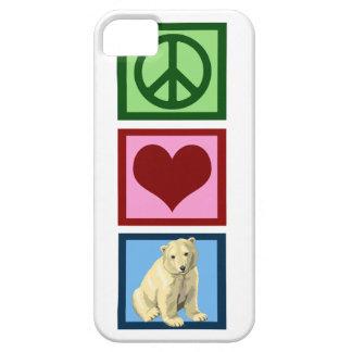 FriedensLiebe-polare Bären iPhone 5 Case