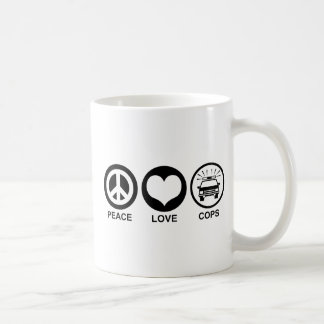 FriedensLiebe-Polizisten Kaffeetasse