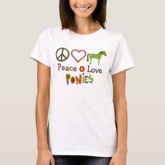 FriedensLiebe-Pony-PferdeT - Shirt