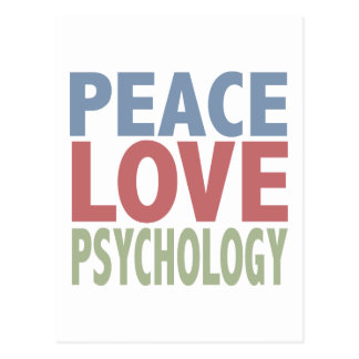 FriedensLiebe-Psychologie Postkarte
