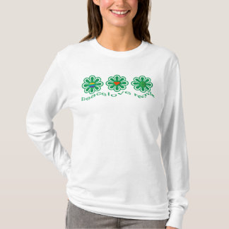FriedensLiebe recyceln T-Shirt
