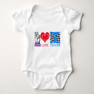 FRIEDENSLiebe-RENNEN Baby Strampler