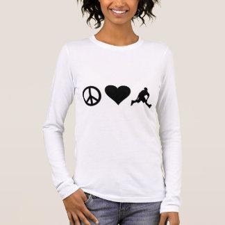 FriedensLiebe Rollerblading Langarm T-Shirt