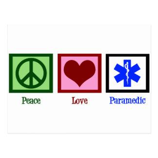 FriedensLiebe-Sanitäter Postkarte