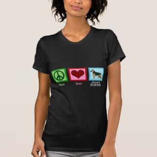 FriedensLiebe-Schäferhunde T-Shirt