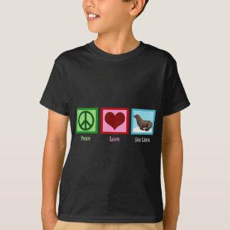 FriedensLiebe-Seelöwen T-Shirt