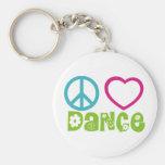 FriedensLiebe-Tanz Schlüsselbänder