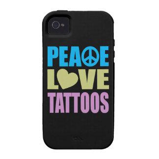 FriedensLiebe-Tätowierungen Vibe iPhone 4 Case