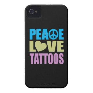 FriedensLiebe-Tätowierungen iPhone 4 Cover