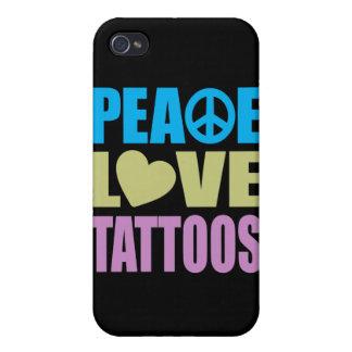 FriedensLiebe-Tätowierungen iPhone 4/4S Case