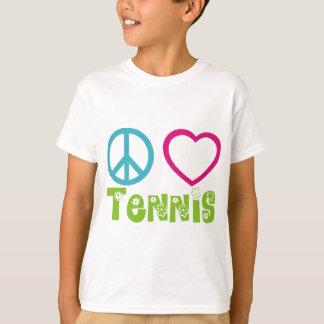FriedensLiebe-Tennis T-Shirt