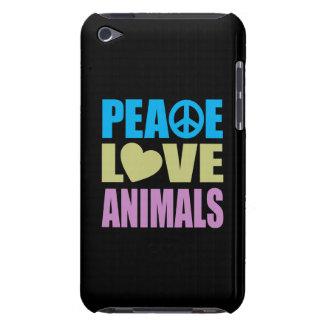 FriedensLiebe-Tiere iPod Case-Mate Case