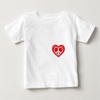 FriedensLiebe u. Glück II Baby T-shirt