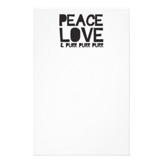 FriedensLiebe u Schnurren-Schnurren-Schnurren Bedrucktes Büropapier