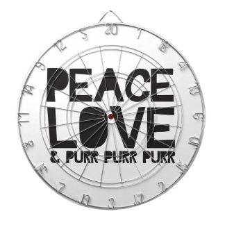 FriedensLiebe u. Schnurren-Schnurren-Schnurren Dart-scheibe