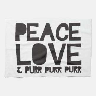 FriedensLiebe u. Schnurren-Schnurren-Schnurren Handtücher