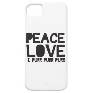 FriedensLiebe u. Schnurren-Schnurren-Schnurren Hülle Fürs iPhone 5