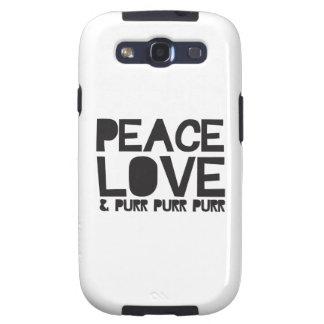FriedensLiebe u. Schnurren-Schnurren-Schnurren Samsung Galaxy S3 Schutzhüllen
