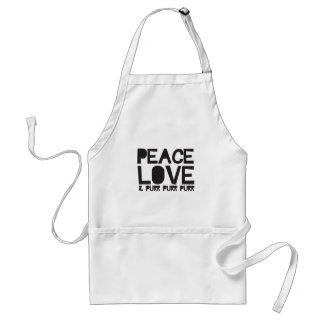 FriedensLiebe u. Schnurren-Schnurren-Schnurren Schürze