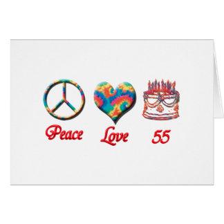 FriedensLiebe und 55 Karte