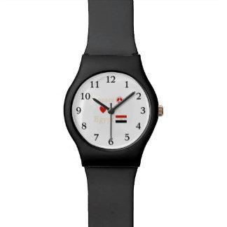 FriedensLiebe und -ägypten Armbanduhr