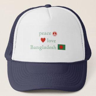 FriedensLiebe und -bangladesch Truckerkappe