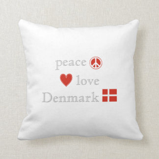 FriedensLiebe und -dänemark Kissen