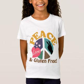 FriedensLiebe und -gluten geben frei T-Shirt