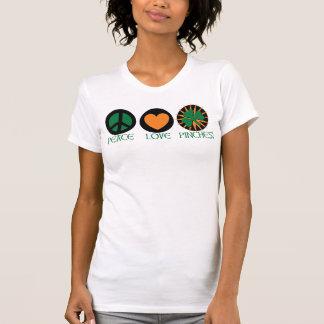 FriedensLiebe und -klemmen T-Shirt