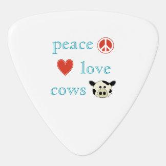 FriedensLiebe und -kühe Plektron