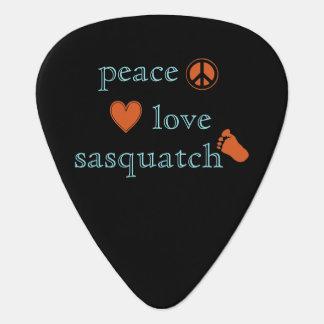 FriedensLiebe und Sasquatch Plektron