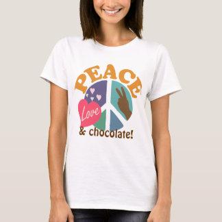 FriedensLiebe und -schokolade T-Shirt