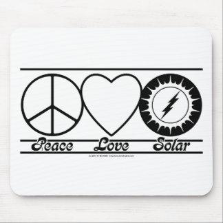 FriedensLiebe und Solar Mousepads