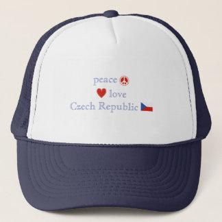 FriedensLiebe und Tschechische Republik Truckerkappe