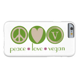 FriedensLiebe vegan Barely There iPhone 6 Hülle