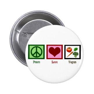 FriedensLiebe vegan Anstecknadel